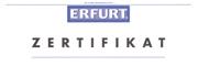 Zertifikat - Praxis-Training - ERFURT-Produkte