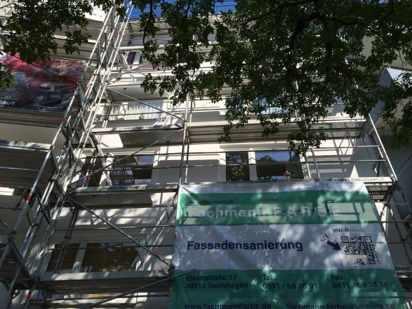 Fassadensanierungen – WDVS